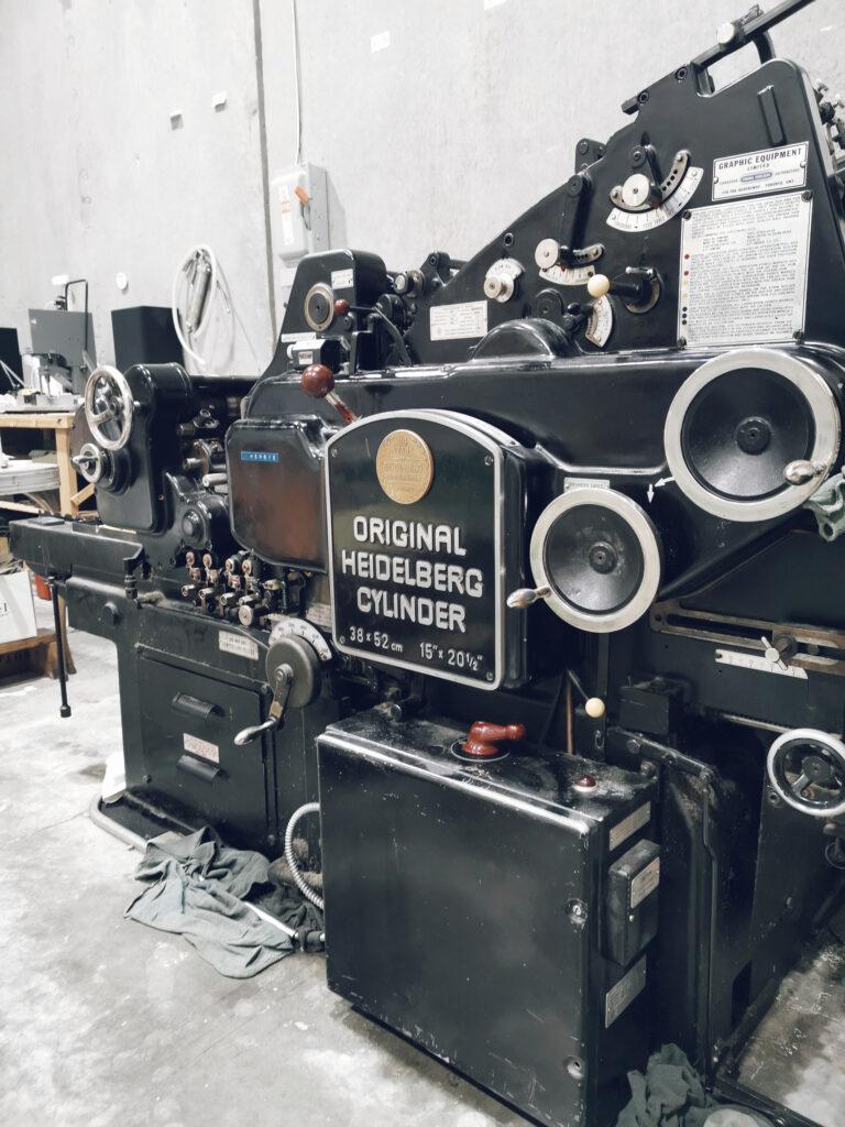 Adlion Printing Co Ltd Print Machine